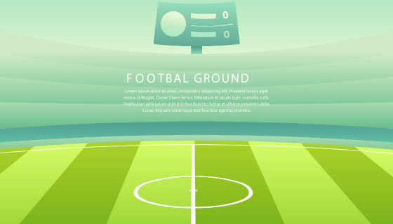 足球场背景矢量素材(EPS/SVG)