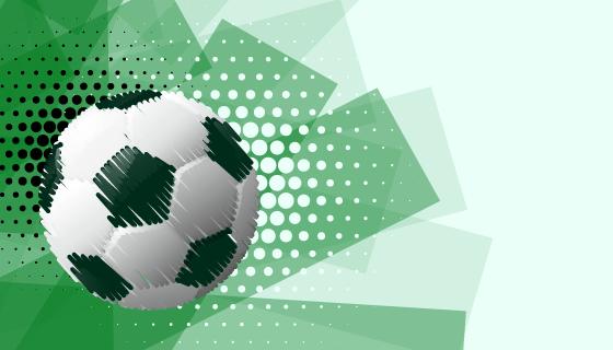 抽象风格足球比赛背景矢量素材(EPS)