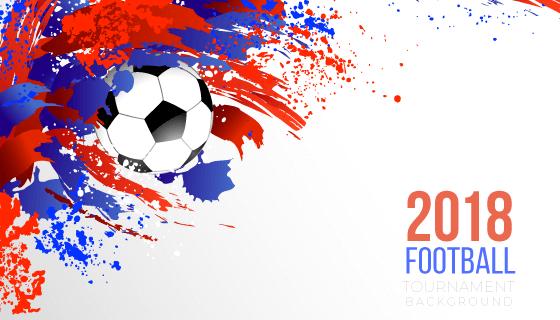 创意涂鸦2018世界杯背景矢量素材(EPS/AI/PNG)