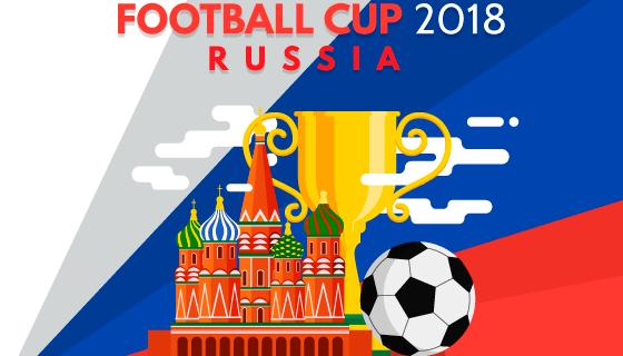 2018世界杯矢量素材(EPS/AI)