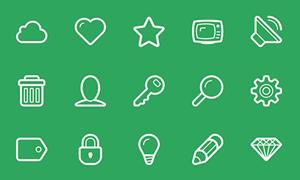 Linecons – 48个免费矢量图标