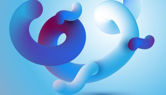 抽象运动背景矢量素材(EPS)