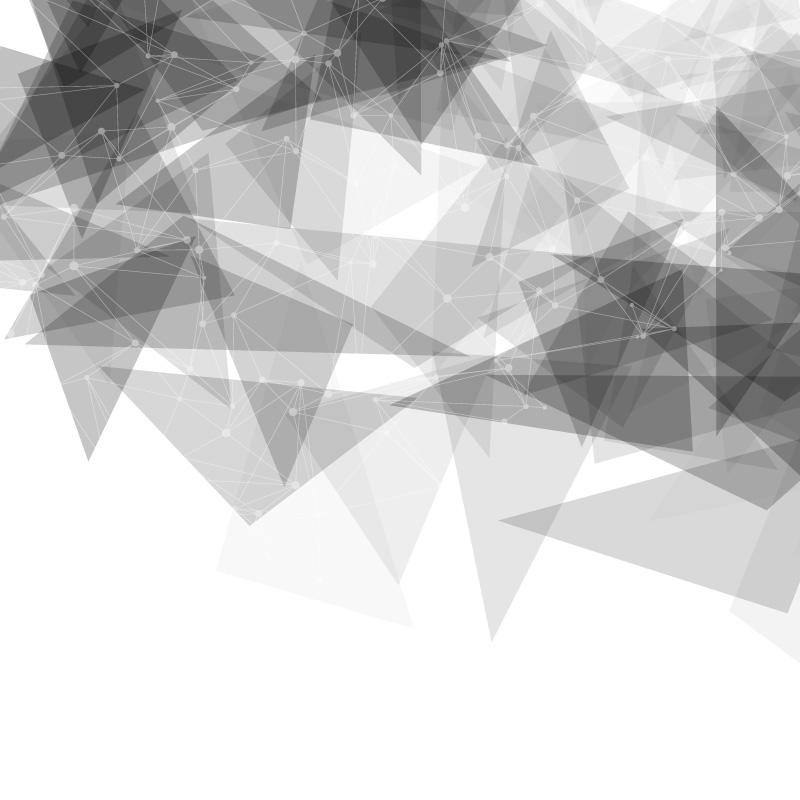灰色抽象低多边形背景矢量素材(EPS)