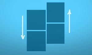 multiscroll.js – jQuery左右垂直反向滚动插件