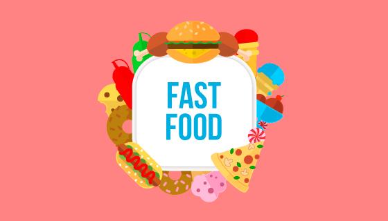 美味的食物矢量素材(EPS/AI/PNG)