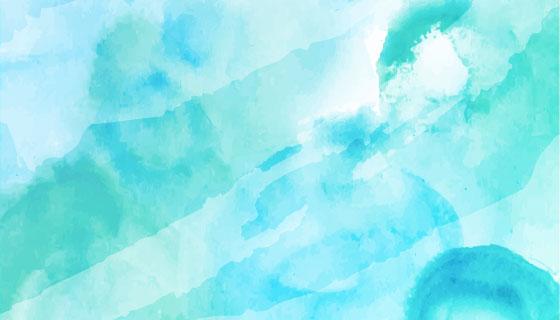 优雅抽象的水彩背景矢量素材(EPS)