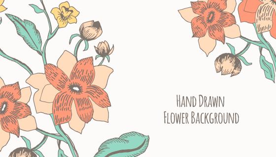 漂亮的花卉背景矢量素材(EPS/AI)