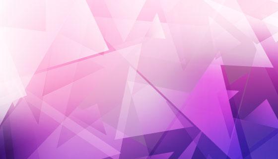 紫色抽象低多边形背景矢量素材(EPS)