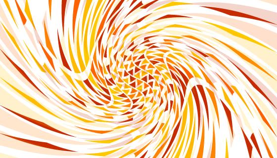 美丽多彩的漩涡背景矢量素材(EPS)