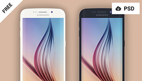 三星Samsung Galaxy S6 Edge模型(PSD)
