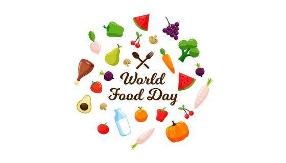世界粮食日背景矢量素材(EPS/AI/PNG)