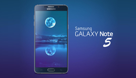 Samsung Galaxy Note 5模型(PSD)