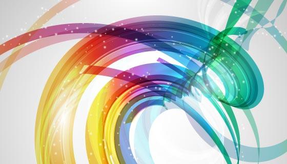 多彩的抽象设计背景矢量素材(EPS)
