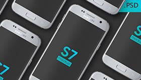 Samsung Galaxy S7模型(PSD)