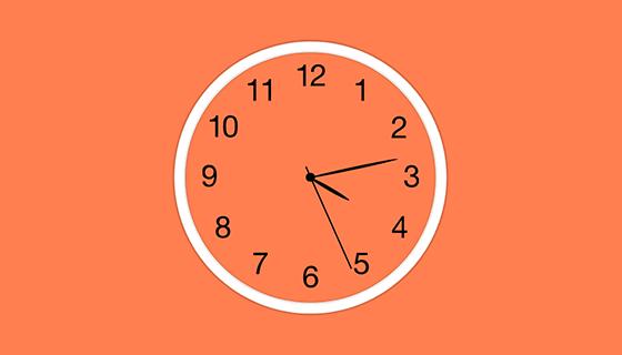 圆形动态时钟