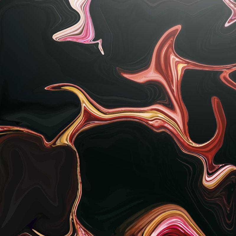 抽象大理石纹理背景矢量素材(EPS/AI)