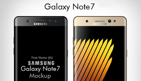 Samsung Galaxy Note 7模型(AI/EPS)