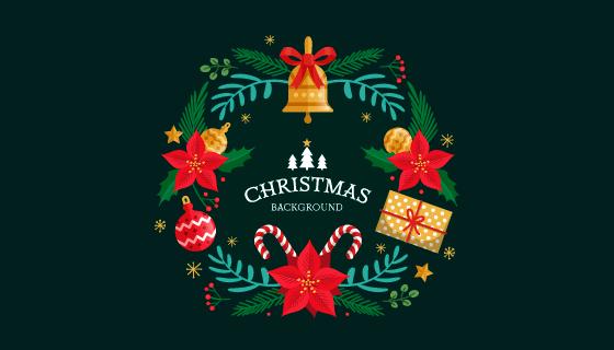 创意圣诞节背景矢量素材(EPS/AI/PNG)