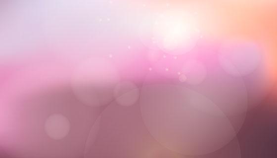 抽象散景灯光背景矢量素材(EPS/AI)