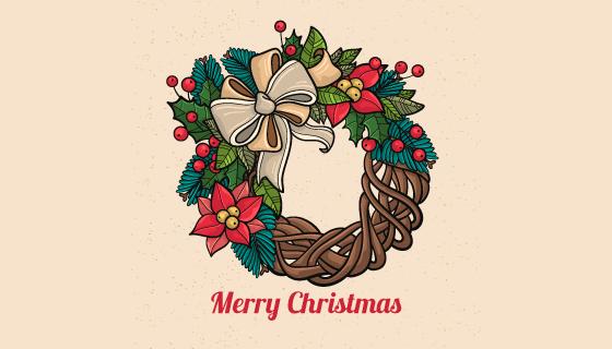 手绘圣诞装饰品矢量素材(EPS/AI/PNG)