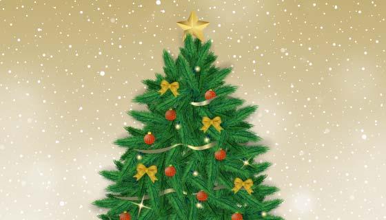 创意圣诞树矢量素材(EPS)