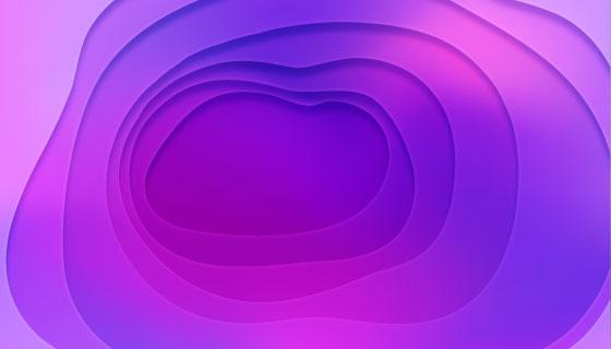 紫色抽象背景矢量素材(EPS/AI)