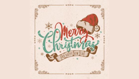 创意圣诞节背景矢量素材(EPS/PNG)