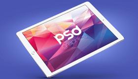 苹果iPad Pro模型(PSD)
