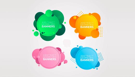 抽象几何banner矢量素材(EPS/AI/PNG)