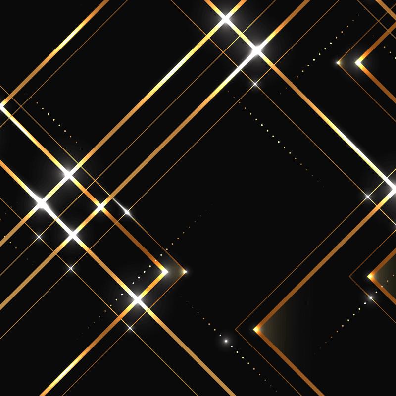 高端商务的暗金色背景矢量素材(EPS/AI)