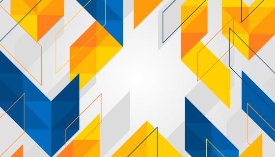 抽象几何图形背景矢量素材(EPS/AI)