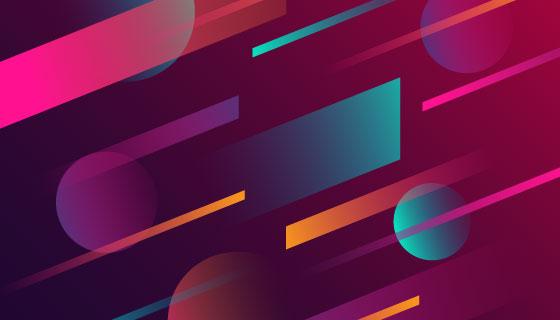 抽象背景矢量素材(EPS/AI)