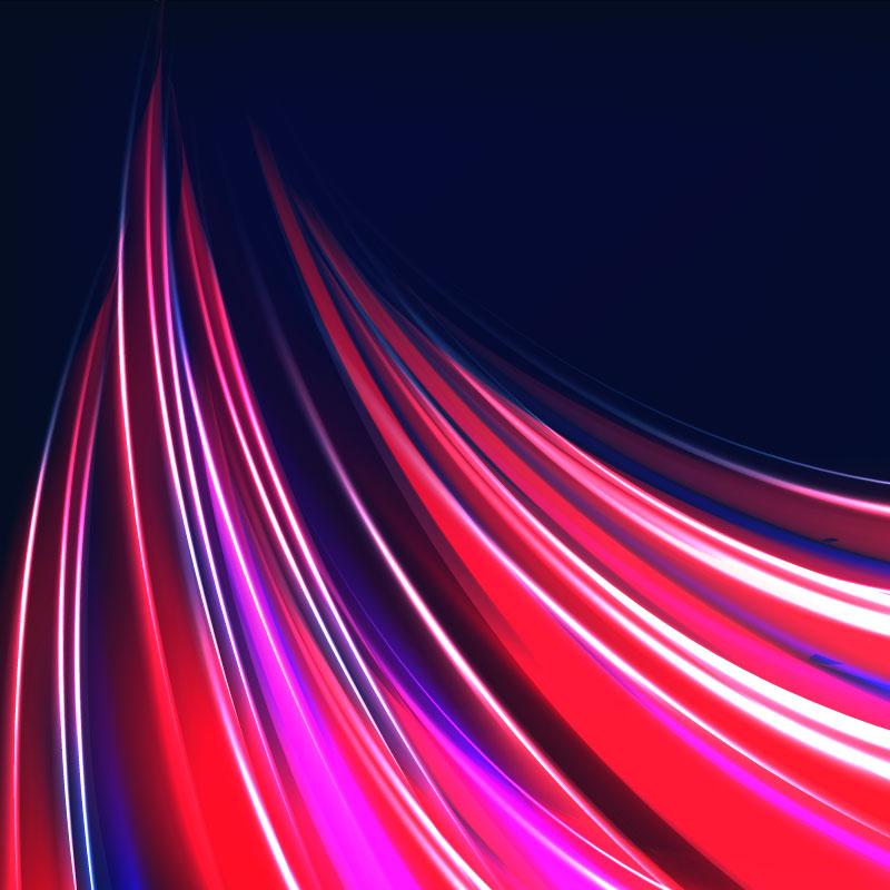 多彩绚丽光线背景矢量素材(EPS/AI)