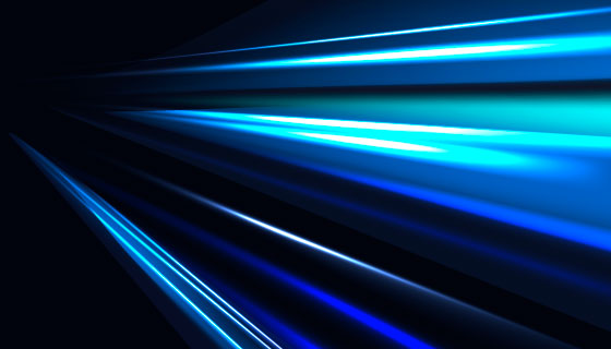 蓝色绚丽光线背景矢量素材(EPS/AI)
