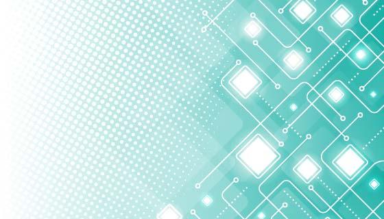 抽象半色调科技背景矢量素材(EPS)