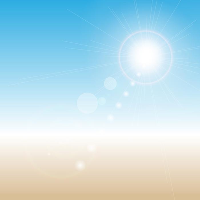 散景夏季背景矢量素材(EPS)