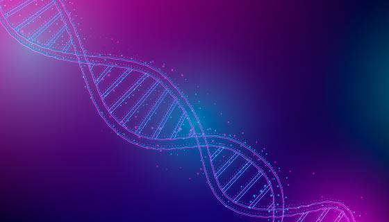 抽象DNA背景矢量素材(AI/EPS)