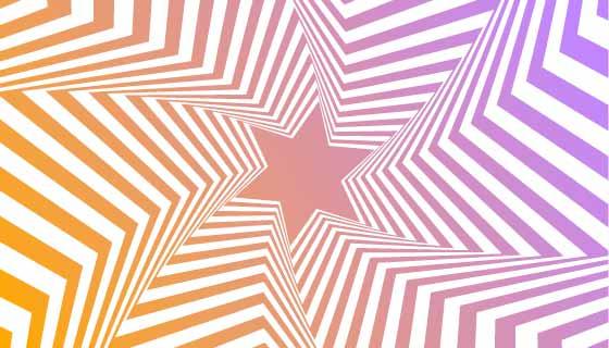 抽象视觉错觉背景矢量素材(AI/EPS)