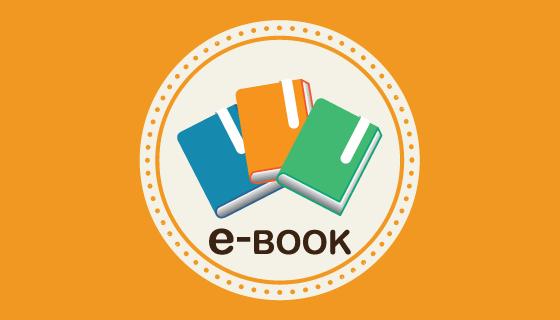 扁平风格电子书矢量素材(EPS)