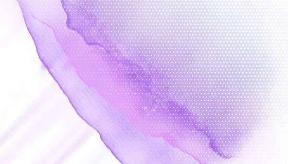 美丽的紫色水彩背景矢量素材(EPS)