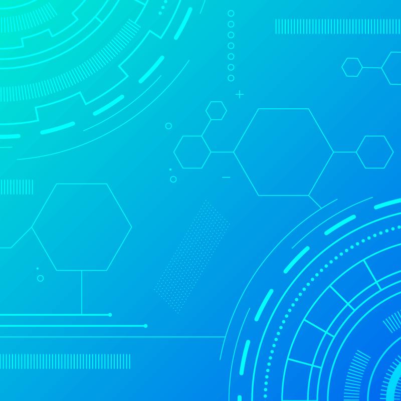 抽象科技背景矢量素材(AI/EPS)