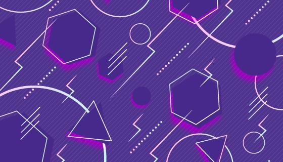 创意抽象背景矢量素材(AI/EPS)