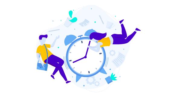 时间概念设计矢量素材(AI/EPS)