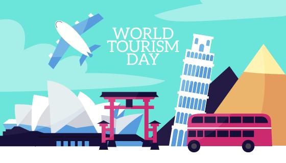 世界旅游日设计矢量素材(AI/EPS)