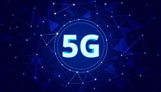 5G网络概念背景矢量素材(AI/EPS)