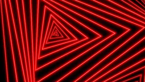 抽象三角形霓虹灯背景矢量素材(AI/EPS)