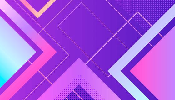多彩抽象几何图形背景矢量素材(AI/EPS)