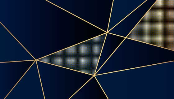 豪华深色多边形背景矢量素材(AI/EPS)