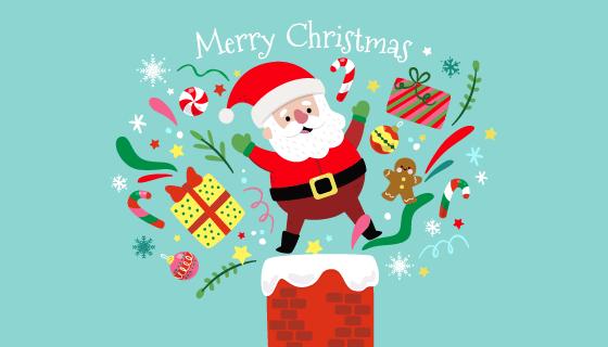 紫色装饰品圣诞节背景矢量素材(eps)
