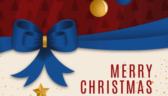 圣诞彩带背景矢量素材(AI/EPS)